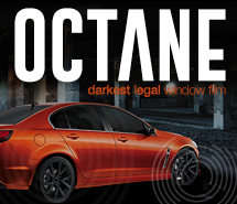 Orange sedan - Octane street legal tint